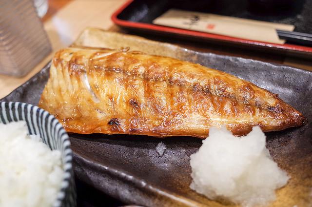 金華焼塩鯖定食